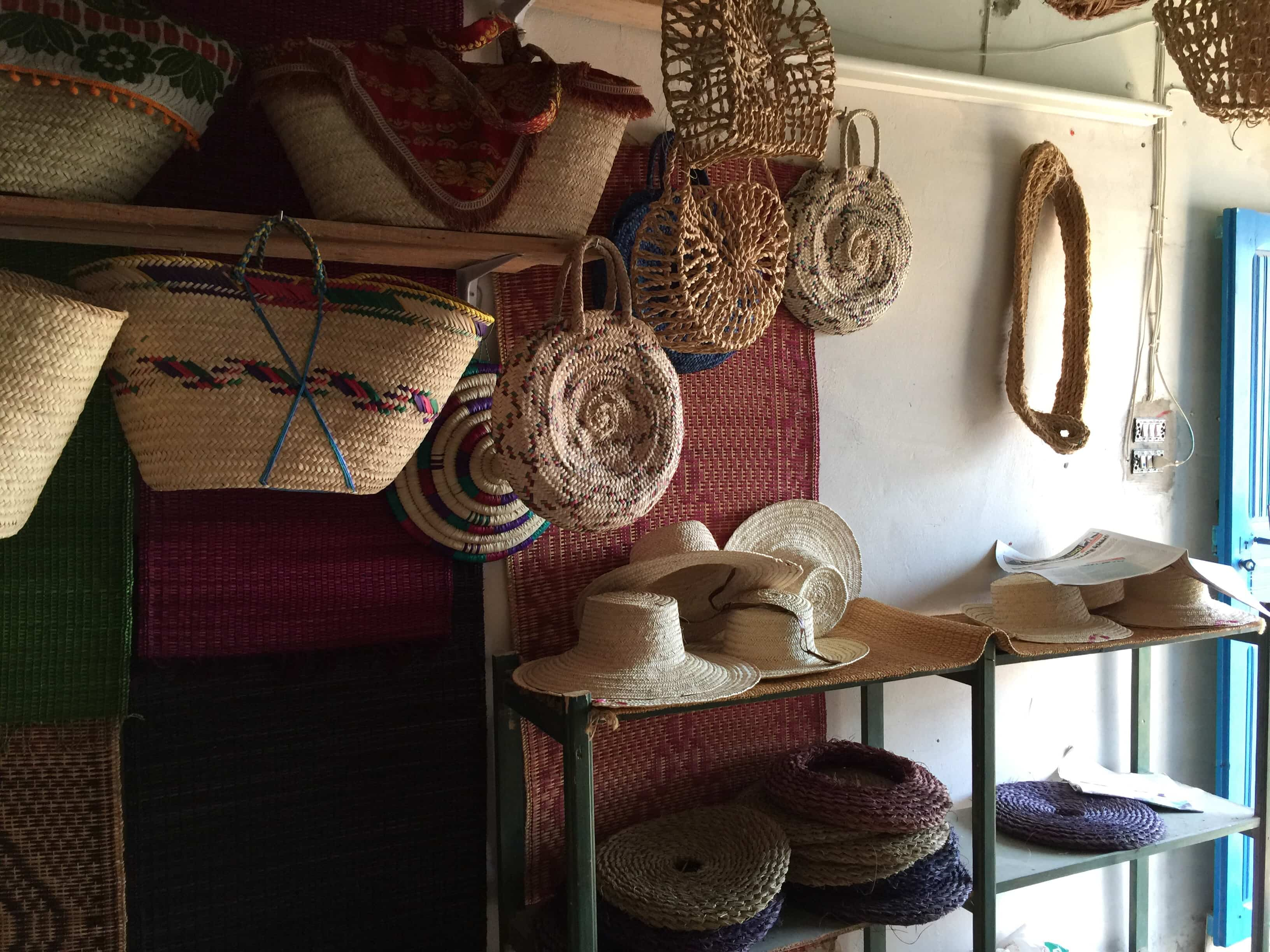 Tunisian Basketry — Hats